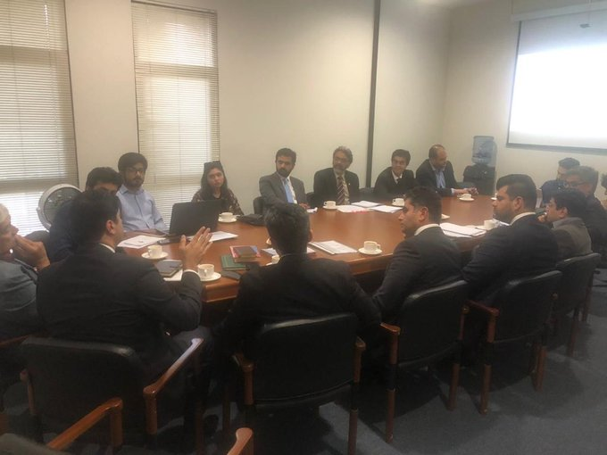 Program Implementation Unit, P&DB conducted a session in LUMS.