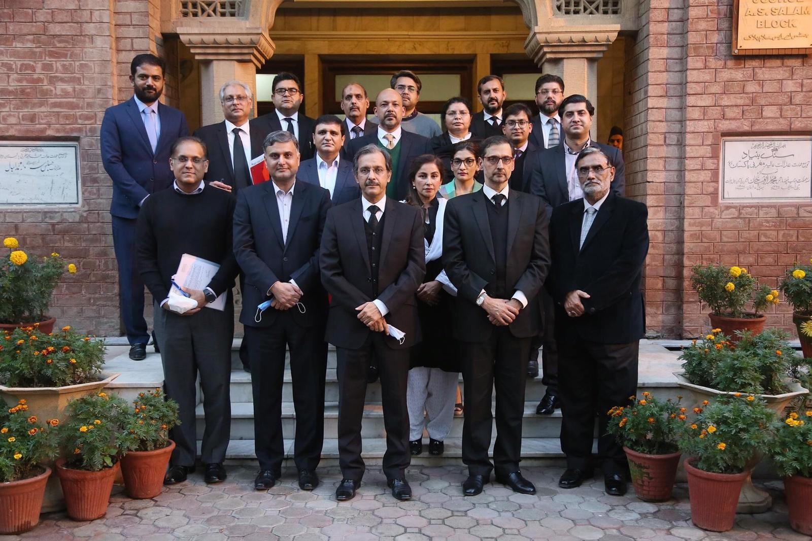 Commercial Courts Meeting with Judiciary in Lahore High Court